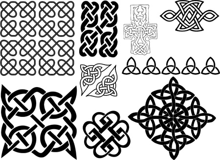 Celtic motifs Illustration