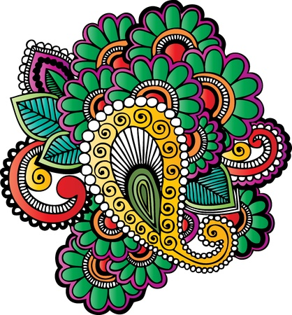 Henna tattoo met live verf groepen