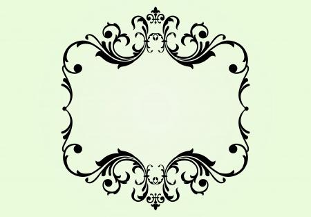 Royal floral ornament