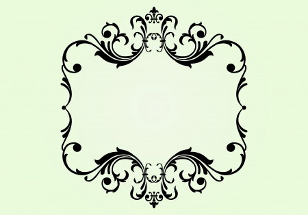 Royal floral ornament