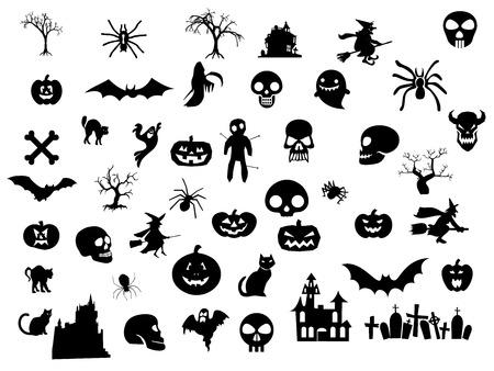 Halloween pack Vettoriali