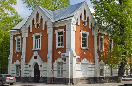 otorhinolaryngology: The building of the ORL clinic of the Irkutsk Medical University