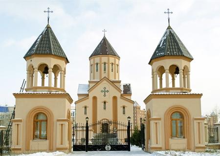 apostolic: Church of St  Sarkis - Armenian Apostolic Church  Krasnoyarsk
