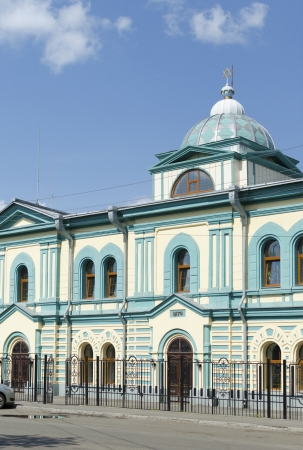Jewish synagogue in Irkutsk Stock Photo - 23980077