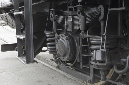 undercarriage: Locomotive undercarriage
