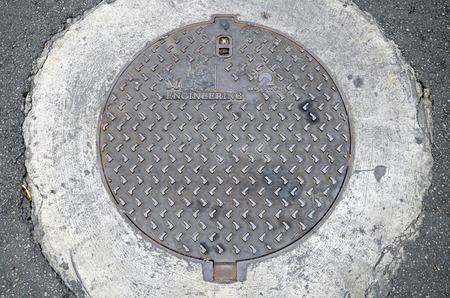 manhole: Manhole on Phuket street