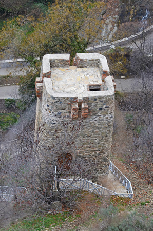 defensive: Narikala - Tbilisi defensive fortress. Watchtower