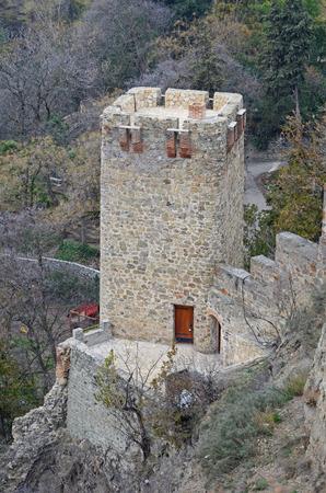 tbilisi: Narikala - Tbilisi defensive fortress. Watchtower