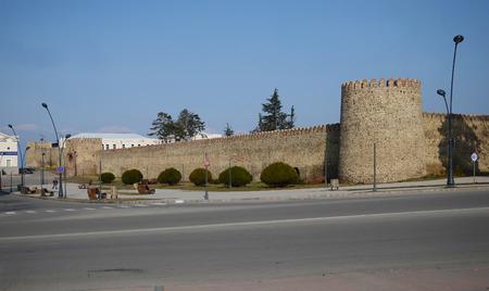 observant: Fortress BatonisCiche Irakli II Castle in Telavi. Georgia Editorial