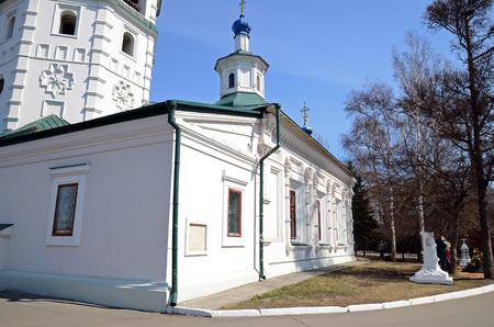 Church in Znamensky Monastery. Irkutsk