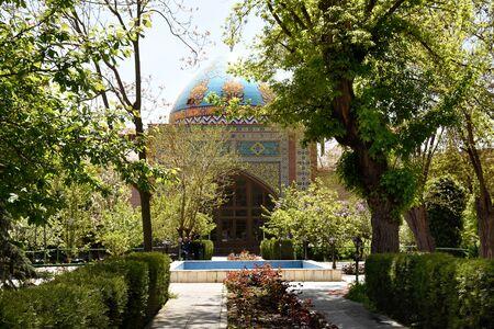 Blue Mosque in Yerevan. Built in 1766 in Ottoman-Persian period, Armenia