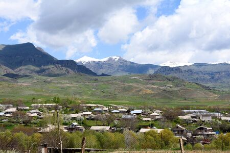Areni is a small village with very ancient history, Armenia, Syunik region