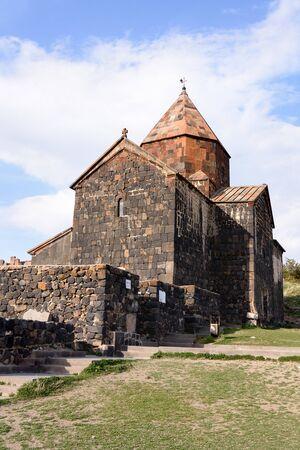 Sourp Arakelots. Sevanavank monastery on northwest coast of Lake Sevan, Gegharkunik province, Armenia