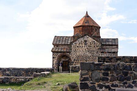Sourp Karapet. Sevanavank monastery on northwest coast of Lake Sevan, Gegharkunik province, Armenia