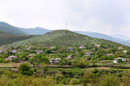 Mountain village in Tavush region in northeast of Armenia 写真素材