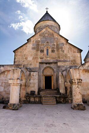 Surb Astvatsatsin, Church of Holy Virgin. Ancient Armenian monastery Haghartsin in Tavush region, Armenia