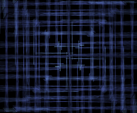 illusionary: background of blue stripes, which are arranged so that the eye image is focused at the center Stock Photo