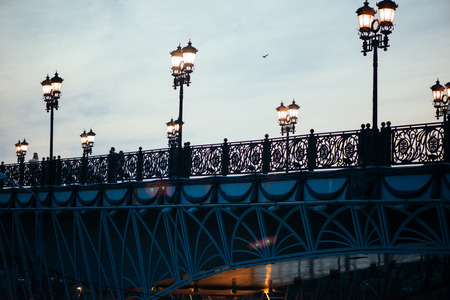 patriarchal: Patriarchal bridge in Moscow