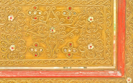 pattern in traditional Thai style of art photo