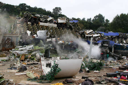 collisions: Air Crash Disaster Movie Set, USA