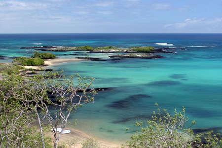 conserved: Bay View, Punta Cormorant, Isla Santa Mar�a, Galapagos