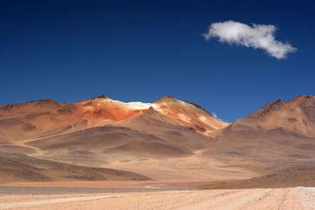 windswept: The Red Desert, Bolivia Stock Photo
