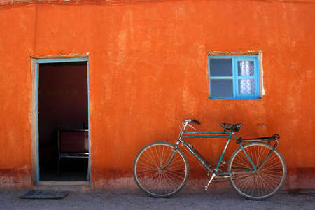 ciclos: Colorido casa frente