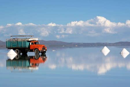 salar: Salt Mining in Salar de Uyuni