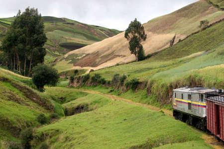 railtrack: Train Ride from Riobamba to Sibambe, Ecuador