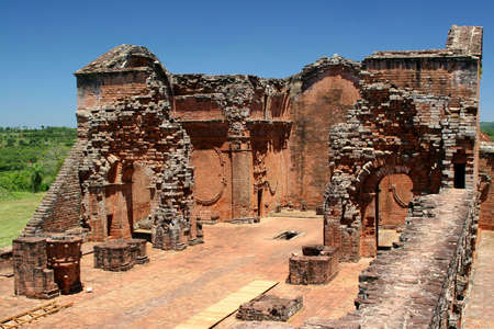 jesuit: Jesuit Ruins in Trinidad, Paraguay Stock Photo
