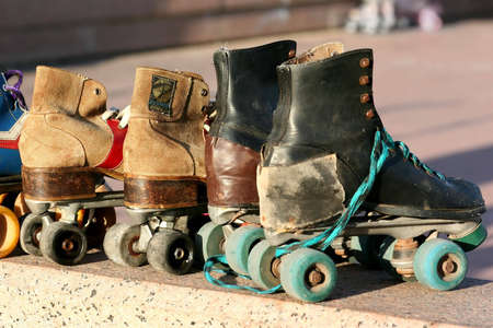patines: Old patines, Montevideo, Uruguay