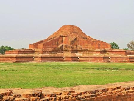 ruins of Somapura Mahavihara in Paharpur, Bangladesh