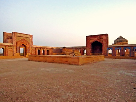 Makli Necropolis is one of the largest funerary sites in the world, spread over an area of 10 square kilometres near the city of Thatta, Pakistan.