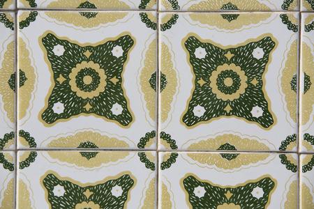 Vintage ceramic tile Banco de Imagens