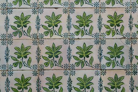 portuguese: Traditionell portuguese tiles Stock Photo