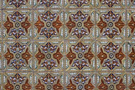 seamless tile: Detail of some typical portuguese tiles