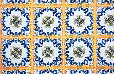 Detalle de algunos azulejos típicos portugueses