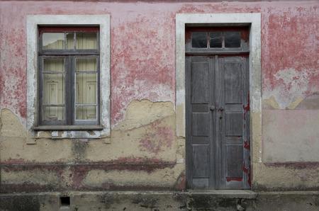 oude huizen Stockfoto