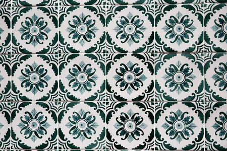 portuguese: Traditional Portuguese tiles Stock Photo