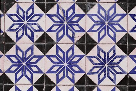 Traditional Portuguese tiles Stock Photo