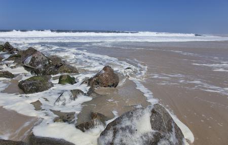 Vagueira beach in Aveiro, Portugal Stock Photo