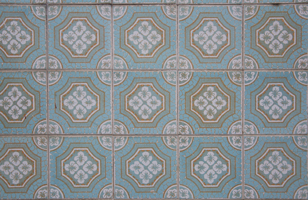 Traditionell portuguese tiles,Europa,Portugal. Stock Photo