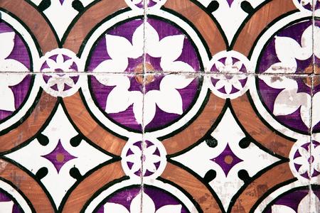 Old Portuguese tiles Stock Photo