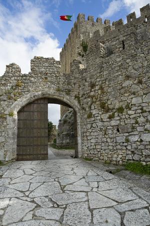 Montemor-o-Velho Castle, in Portugal Stock Photo