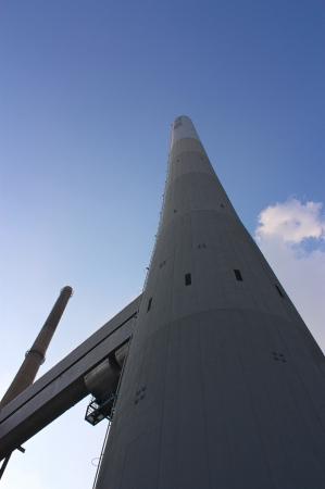incinerator: Chimney of an incinerator