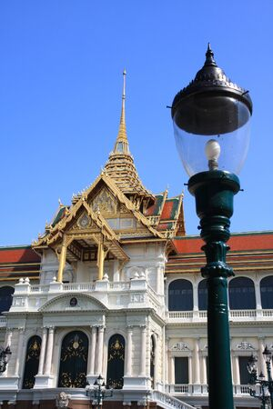 Thailand grand palace , a famous travel attraction of thailand Banque d'images
