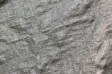 surface of plastic poly tarpaulin Imagens