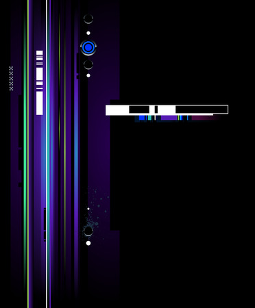Cool futuristic background for your creative design Stock Vector - 6126982