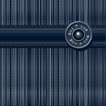 denim jeans: Jeans textured background. Vector illustration.