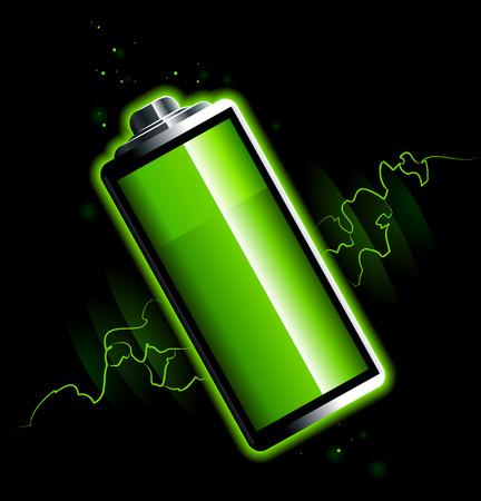 chemic: Batteria solo su sfondo nero